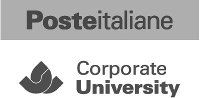 Poste Italiane e Corporate University logo